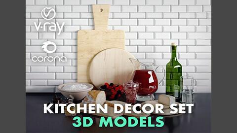 Kitchen Decor Set 01
