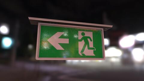 Emergency Exit Indicator
