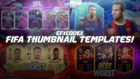 Fifa Thumbnail Templates!