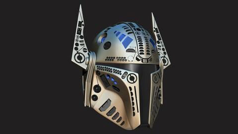 Mandalorian Helmet Sculpt Project