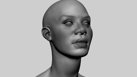 Female Head 08