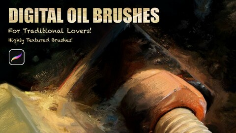 Digital Oil Brush For Traditional lovers!