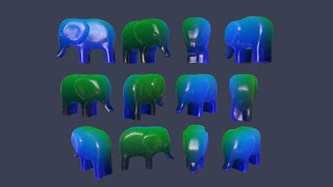 Toy Elephant Glow