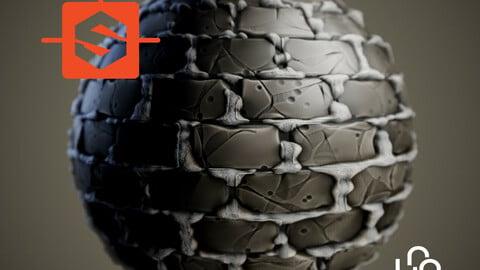 Substance Designer Tutorial - Stylized Old Bricks