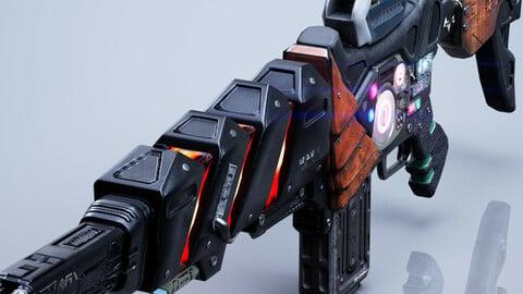 SciFi Gun - Encre