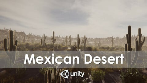 Mexican Desert (Unity Package)