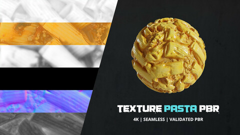 Textures Food Pasta 4k Pbr - 16bit - 012