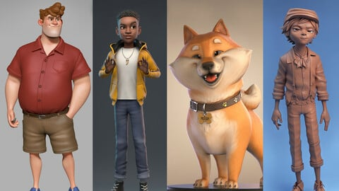 Create Stylized Characters for Animation & 3D Printing - Course Sign Up