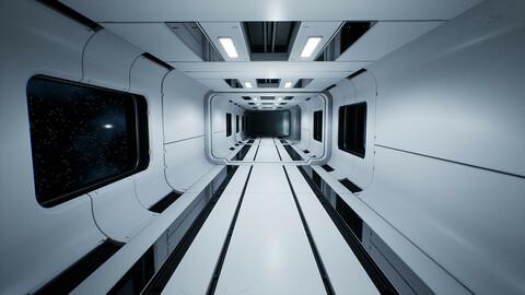 Modular Sci-Fi Interior
