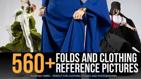 560+ Folds & Clothing Reference Pictures