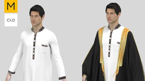 Men Arab Cloak MD