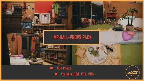 MR Hall-Props PACK