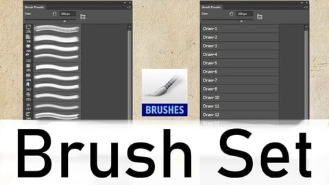Photoshop Brush Set Vol. 3