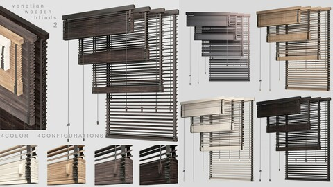 Venetian Wooden Blinds 2