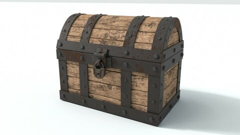 Rusted chest