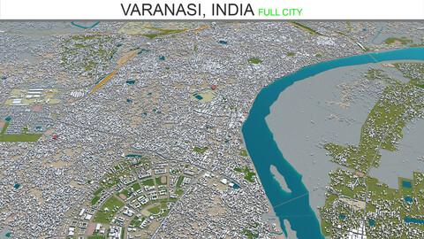 Varanasi City 3D Model India