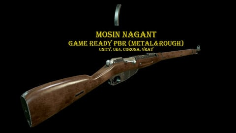 Mosin Nagant and Scope PU