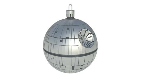 Death Star Christmas tree decoration