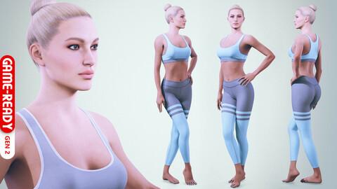Female Character - Lea - Fitness