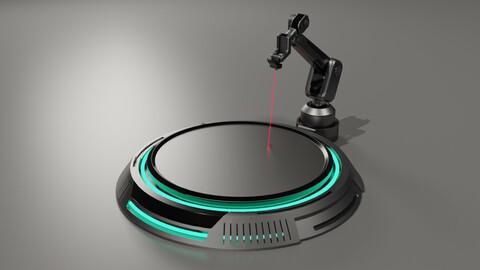 Sci-fi Laser Cutter