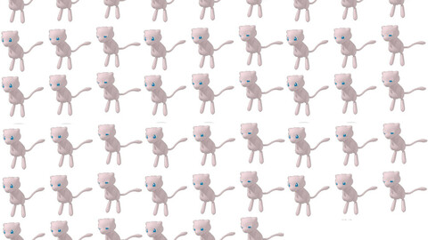 Mew battler for rpg maker MV/MZ