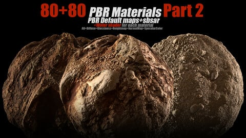 80+80 PBR Materials Part2