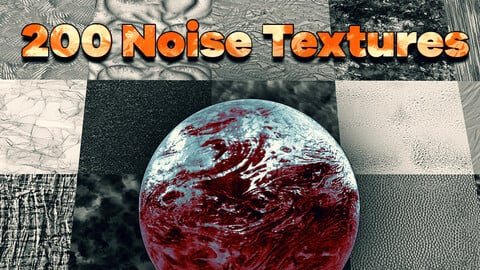 200 4k Noise Texture Pack