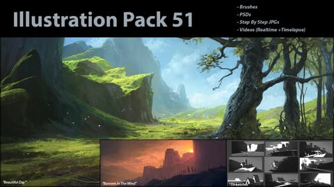 Illustration Pack 51 (not a stock asset)