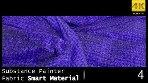 Substance Painter Fabric Smart Material /4K High Quality / 4