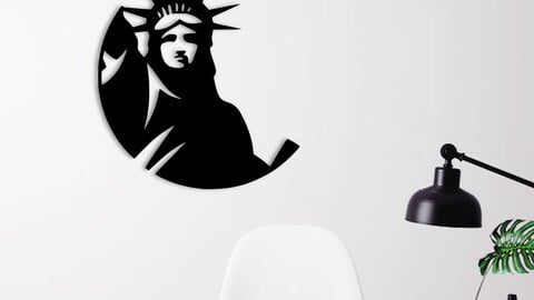 LIBERTY STATUE WALL DECORATION