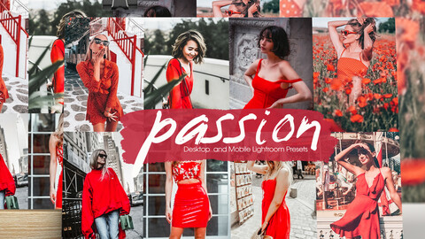 Passion Lightroom Presets