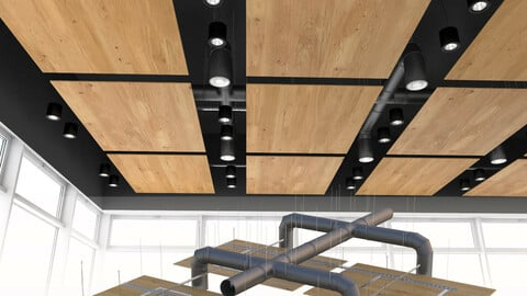 Armstrong acoustic ceiling 3