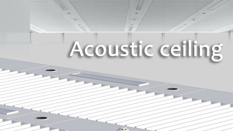 Acoustic ceiling system