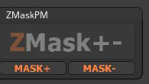Zmaskpm plugin for zbrush
