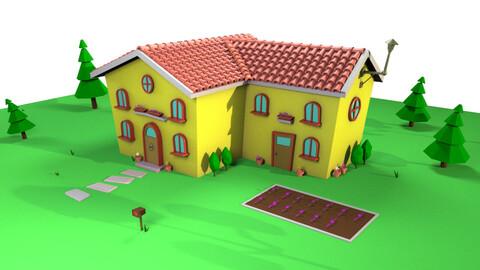 Cartoon house 2