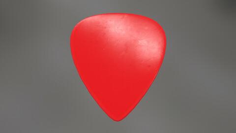 Plectrum Red