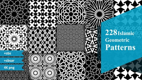 228 Islamic Geometric Patterns