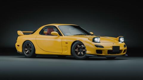 2002 Rotary sports car
