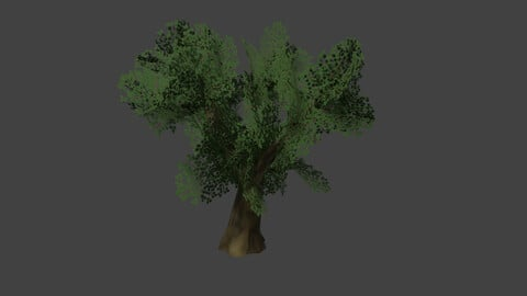 Low Poly Tree (Planes)
