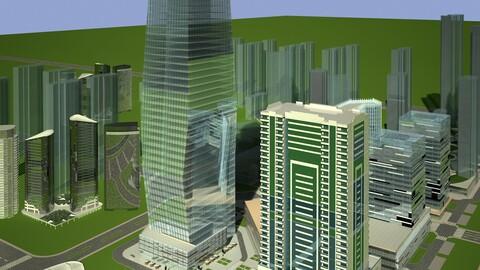 Skyscrapers Building 01