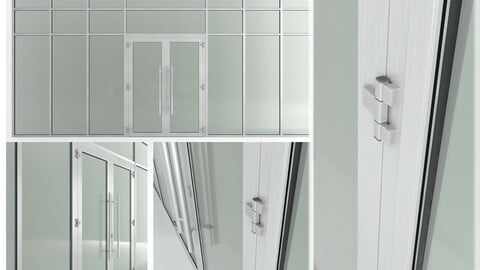 Glass fire doors and partitions Nayada