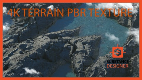 Rock Ground Crag Terrain Landscape Land Cliff Material PBR Texture