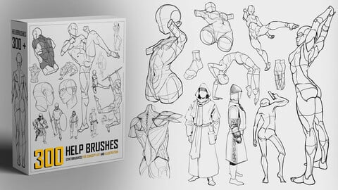 Anatomy HelpBrushes [ 300 CHETBRUSHES  to Push Anatomy skills ]