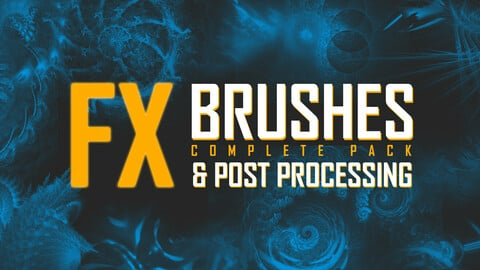 FX Brushpack [PS,Procreate] post Processing
