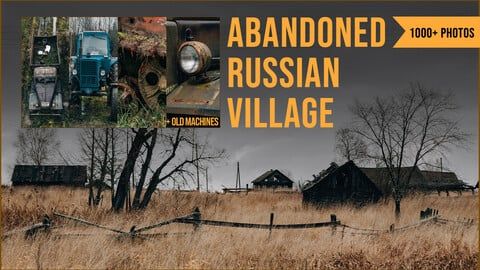 1000+ Abandoned Russian Village Reference Pictures