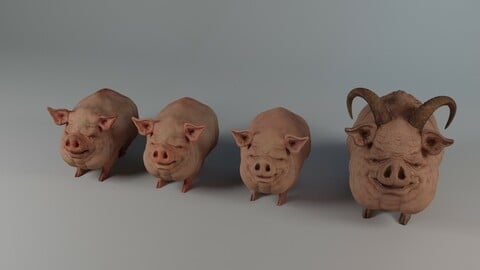 Small Pigs and Devil Pig Model