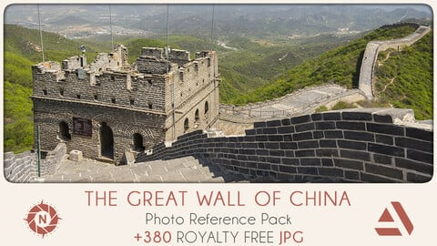 Photo Reference Pack: The Great Wall of China