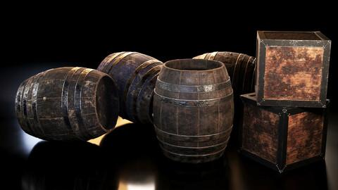 Barrels and Box barrel