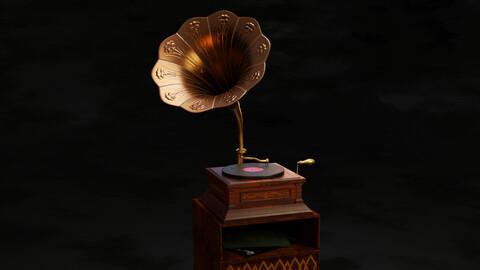 Gramophone antique gramophone