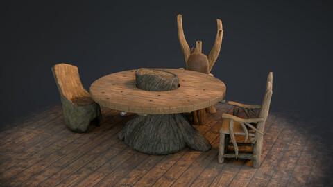 Fantasy Furniture Set 01